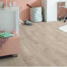 Кварц-виниловая плитка QuickStep Жемчужный серо-коричневый дуб Balance Click BACL40133