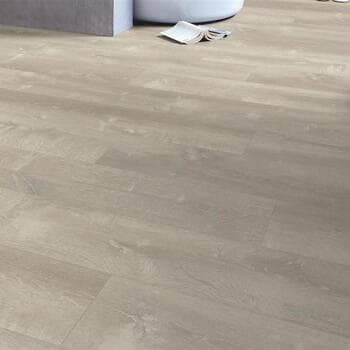 Кварц-виниловая плитка QuickStep Дуб песчаный теплый серый Pulse Click PUCL40083